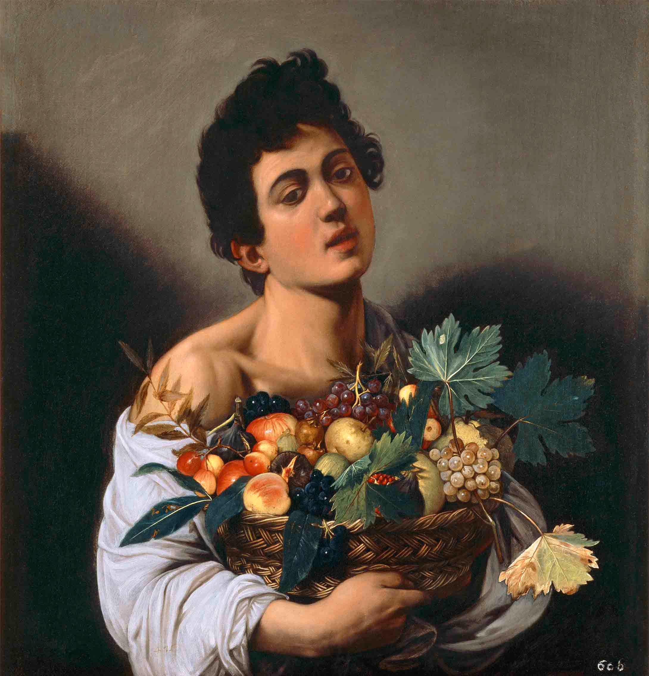 Fanciullo Con Canestro Di Frutta Arte Opere Artisti
